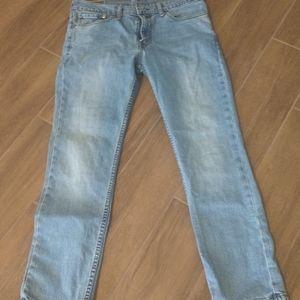 Levi's 511 straight leg jeans 34x29